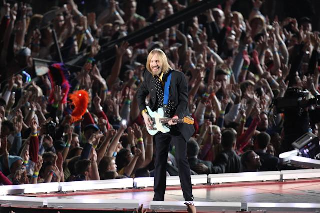 2008: Tom Petty & The Heartbreakers. (Photo by Stan Grossfeld/The Boston Globe via Getty Images)