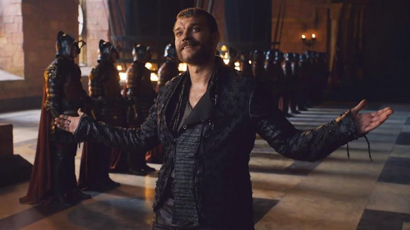 Pilou Asbæk has portrayed villainous pirate Euron Greyjoy for the last three seasons of 'Game of Thrones'. (Credit: HBO)