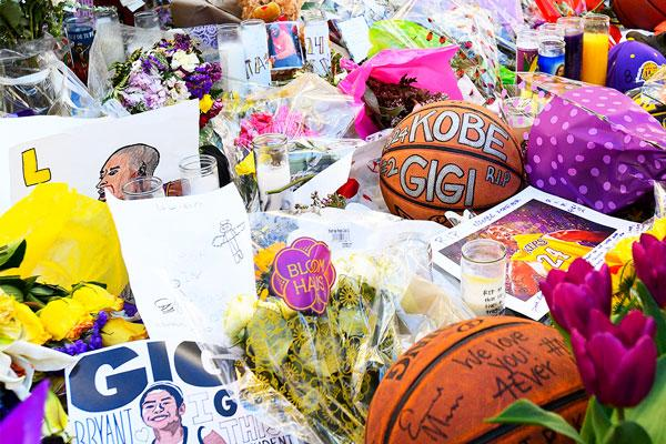 I'm Thinking Of Those 5 Grieving Families Now More Than Ever: Memorial for Kobe Bryant and Gianna