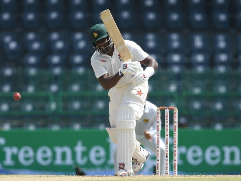 Hamilton Masakadza was unbeaten on 101 when rain wiped out most of the final session at Queens Sports Club