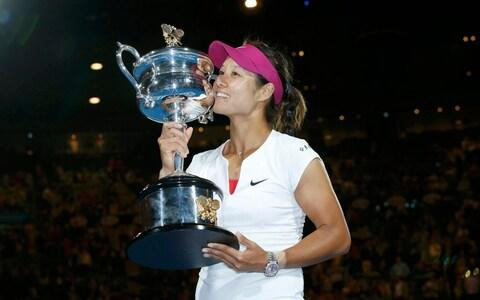 The most famous Chinese tennis star is Li Na, who won two grand slams during her career - Credit: Reuters