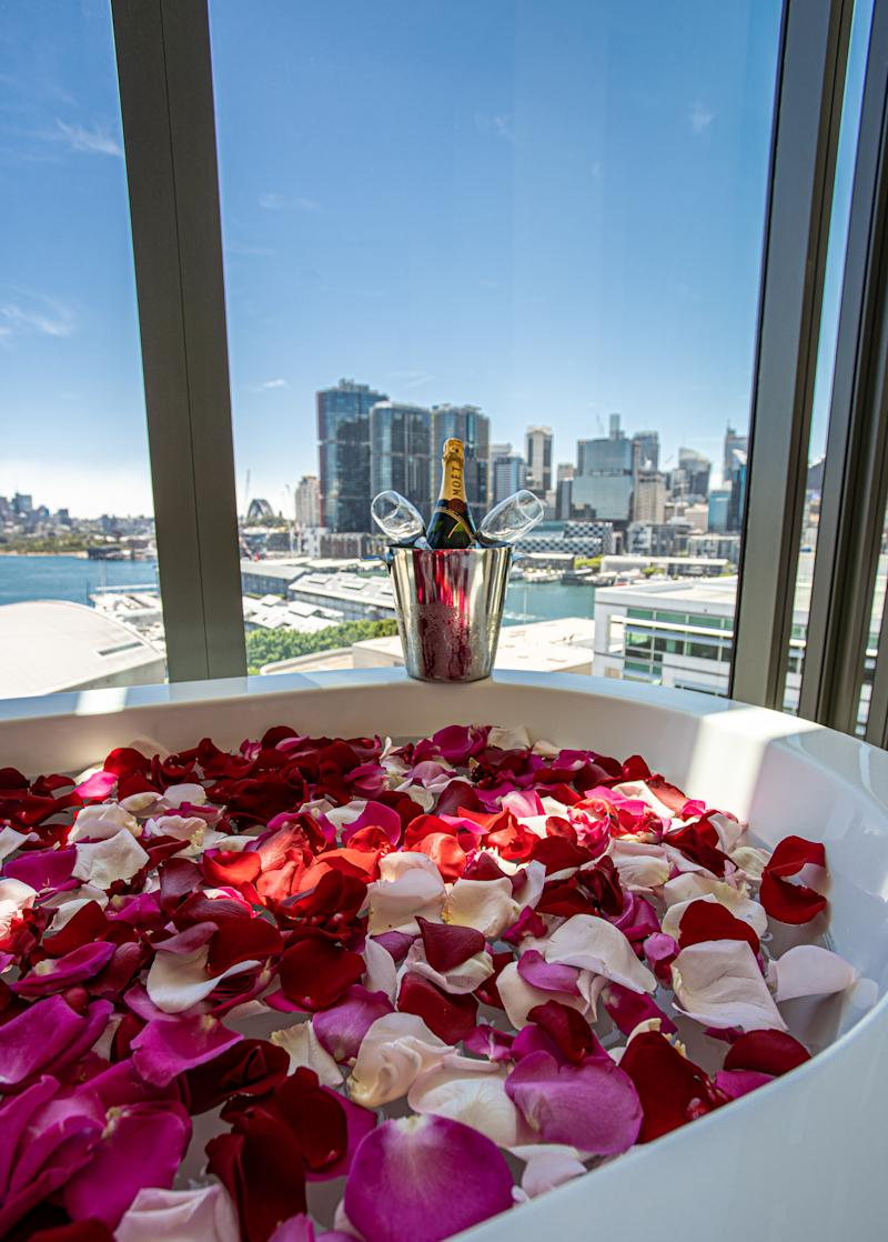 Post-show petal baths are available too. Photo: The Star Sydney