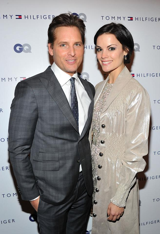 NEW YORK, NY - NOVEMBER 29:  Peter Facinelli and Jaimie Alexander attend the Tommy Hilfiger & GQ celebrate Men of New York at the 5th Avenue Flagship on November 29, 2012 in New York City.  (Photo by Theo Wargo/Getty Images for Tommy Hilfiger)