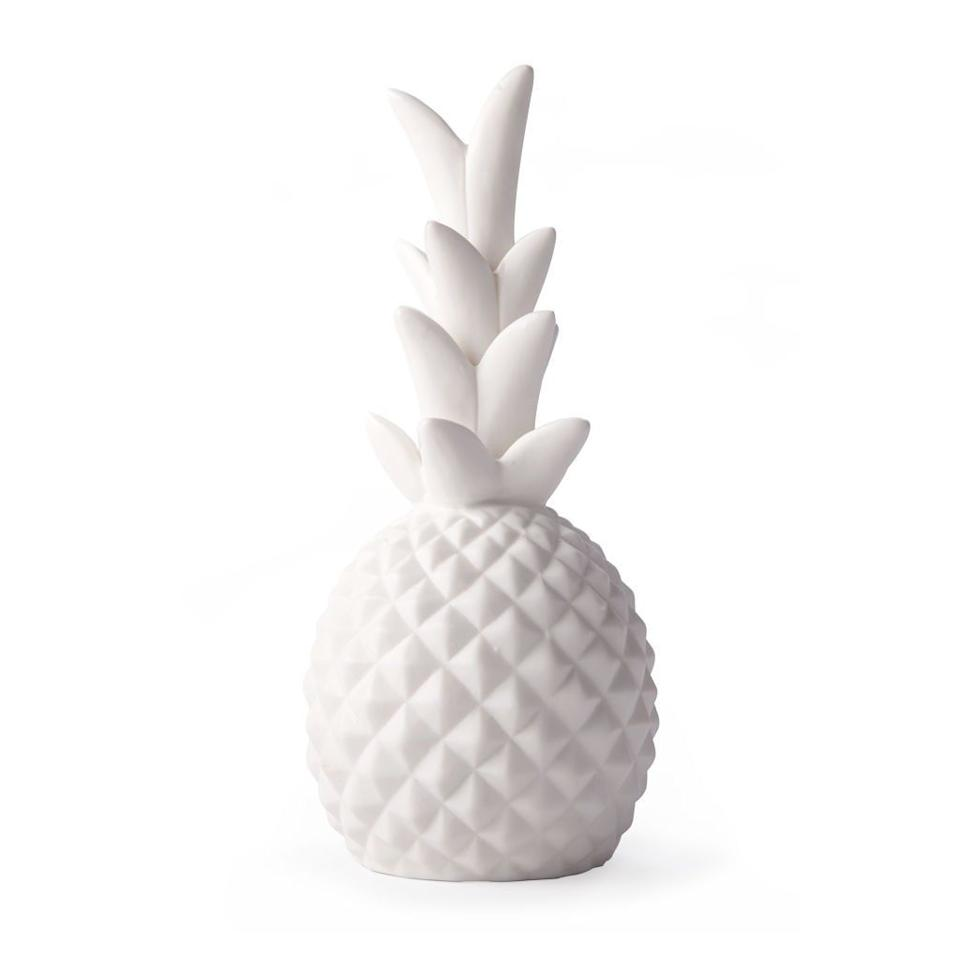 "<p>$13</p><p><a rel=""nofollow"" href=""https://www.amazon.com/Kikkerland-LT14-Pineapple-LED-Light/dp/B075TJW4ZX/"">SHOP NOW</a></p><p>This tropical light glows a soft yellow when it's on and makes for a pretty desk decoration even when it's off. </p>"