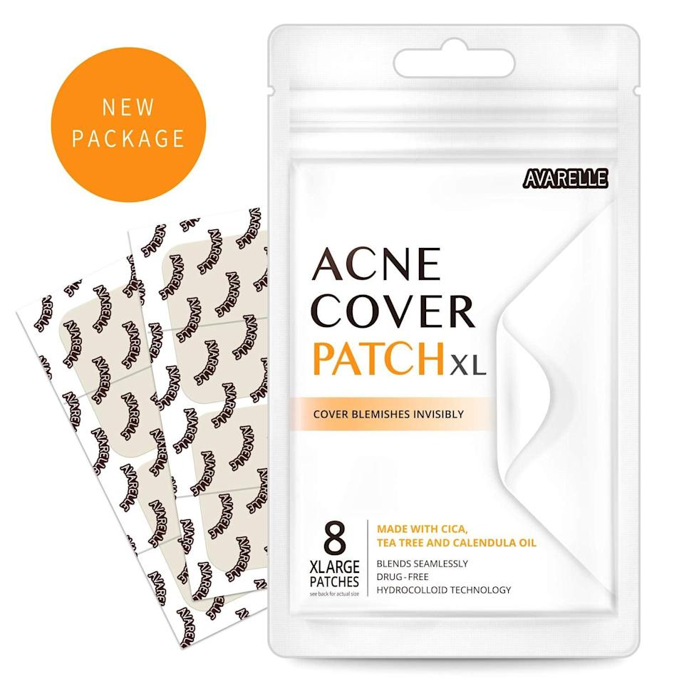 <p>Make zits and breakouts disappear in a jiffy with this effective <span>Acne Pimple Patch Absorbing Cover</span> ($9).</p>
