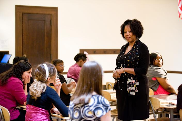 Ruby Bridges speaks to kids today to bring about racial healing and promote equity.