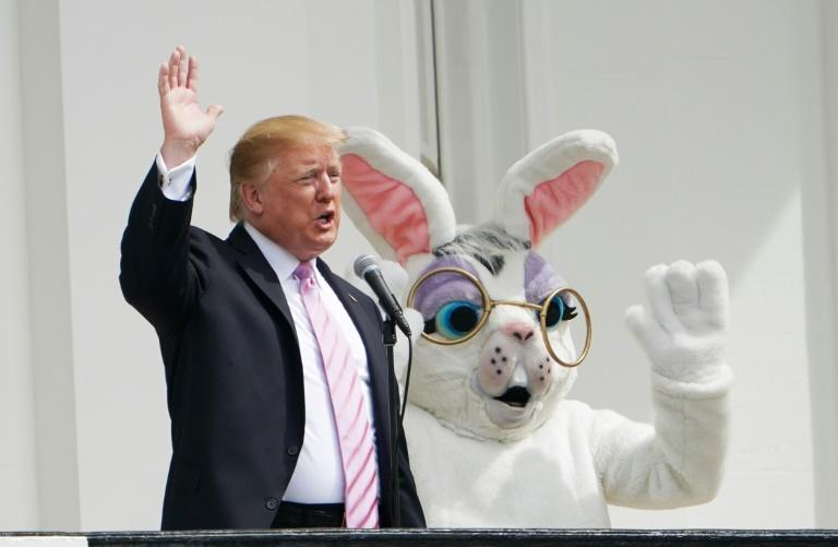 Asked by reporters at a White House Easter event whether the prospect of impeachment worried him, President Donald Trump replied: 'Not even a little bit'