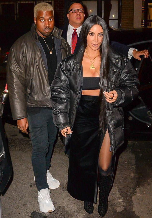 The Keeping Up With the Kardashians star is reportedly covering up cracks in her marriage —and it doesn't look like it's doing any good. Source: Getty