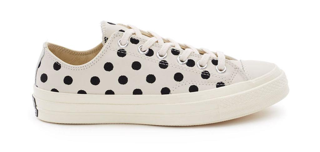 "<p>Chuck Taylor All Star Low '70s Polka Dots, $120, <a rel=""nofollow"" href=""https://www.openingceremony.com/mens/converse/chuck-taylor-allstar-70s-low-ST100160.html""><u>openingceremony.com</u></a>.<span></span></p>"