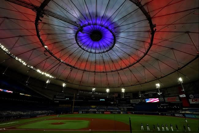 Left out: Rays' all-left-handed-hitting order historic