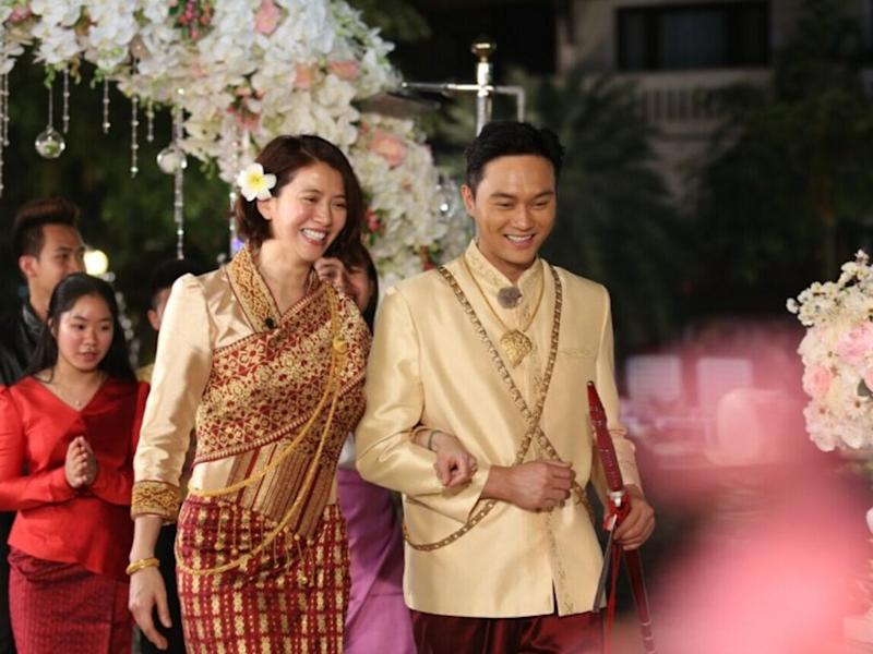 684fe1672b83 Julian Cheung holds wedding on reality show