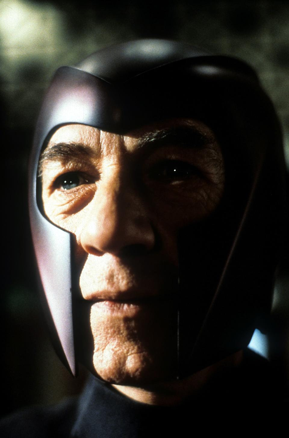 Ian McKellen in a scene from the film 'X-Men', 2000. (Photo by 20th Century-Fox/Getty Images)