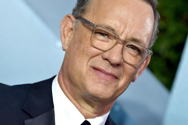 Tom Hanks attends the 26th Annual Screen Actors Guild Awards in LA in January. (Getty Images)