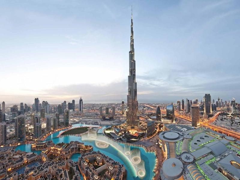 The Burj Khalifa in Dubai is currently the longest building in the world, standing at 2,722-feet (Lester Al i/Dubai Tourism)