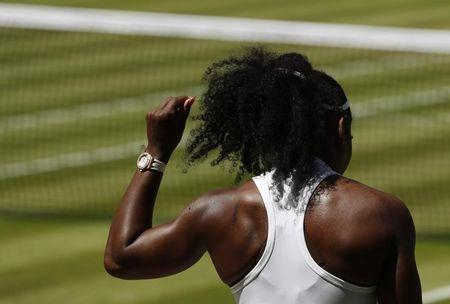 Serena Williams charges into Wimbledon finals, Venus falls
