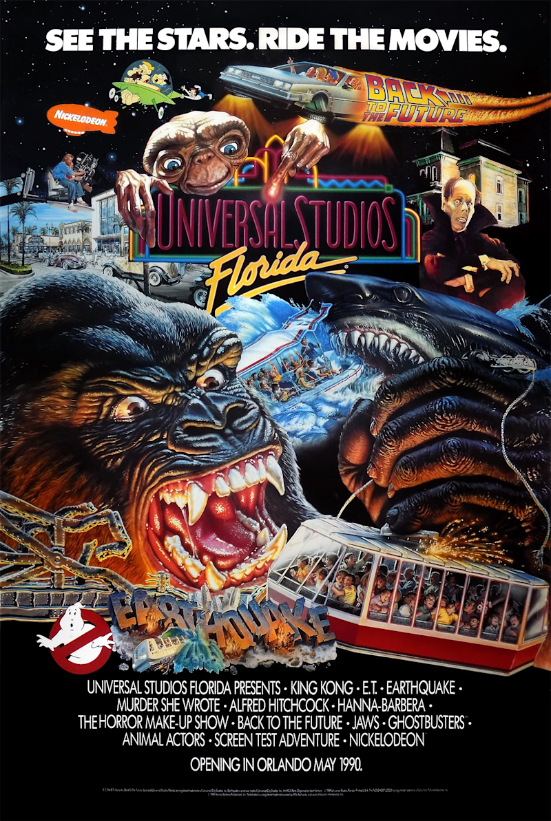 universal studios ad The 90s Were the Golden Age of the Movie Ride