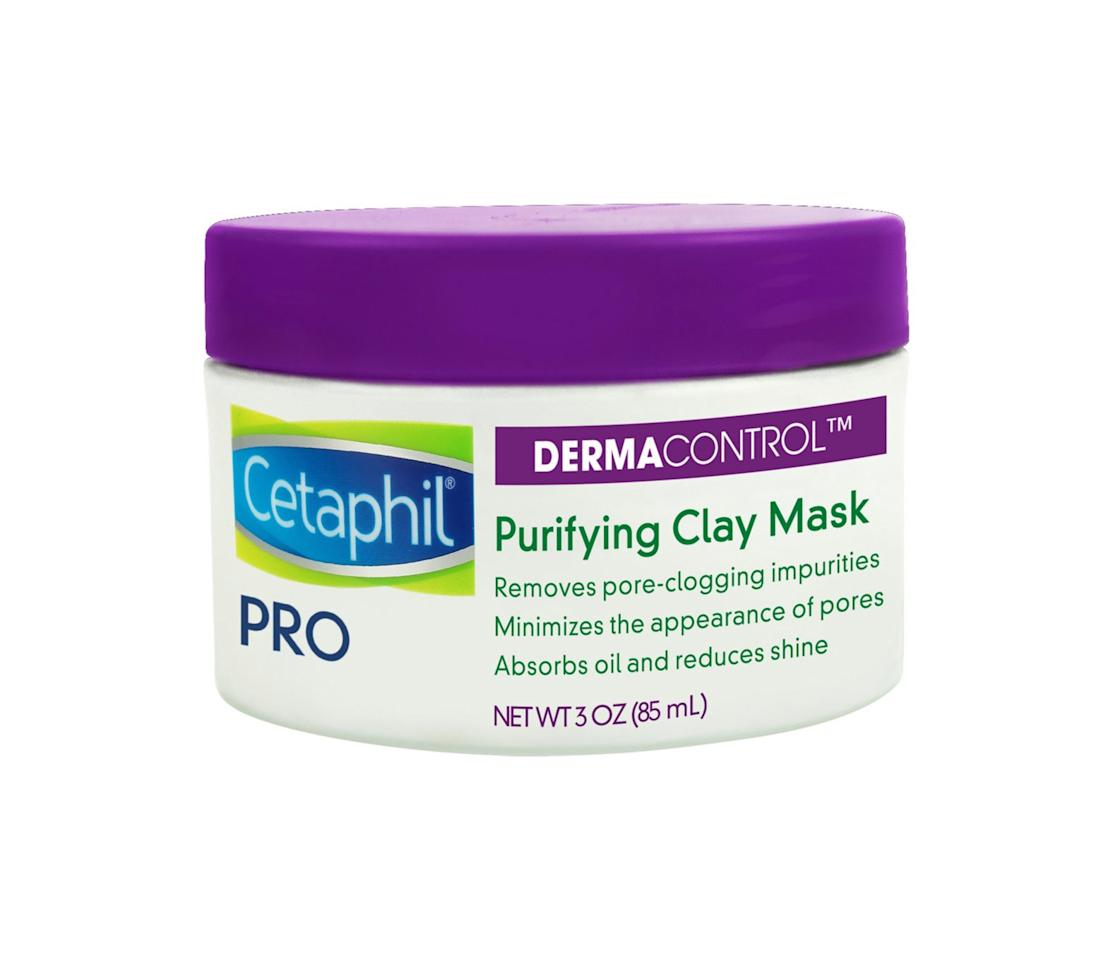 <p>Thanks to two different types of clay, Cetaphil's first-ever mask sucks out all of the dirt, oil, and grime that's been squatting in your pores. The best part? Unlike many other clay-based purifying masks, it's also formulated with nourishing ingredients like avocado oil and shea butter to keep your skin from getting dry. But would you expect anything less from the top dermatologist-recommended drugstore brand for sensitive skin? </p>