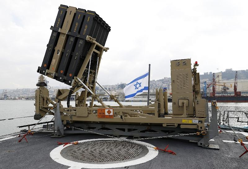 Israel said Friday that its missile defence system had intercepted three rockets (AFP Photo/JACK GUEZ)