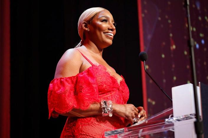 Reality TV Star Nene Leakes speaks at the Thurgood Marshall College Fund 31st Anniversary Awards Gala on October 29, 2018 in Washington, DC. (Photo by Paul Morigi/Getty Images for Thurgood Marshall College Fund)