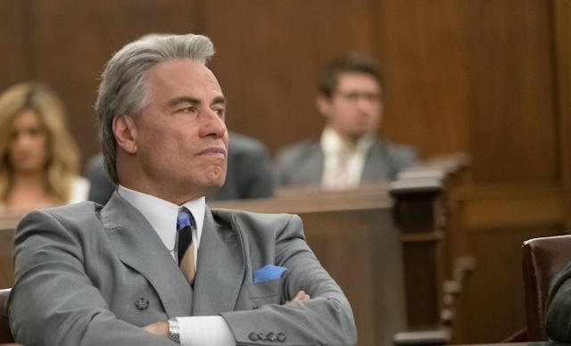 John Travolta stars as John Gotti in <em>Gotti.</em> (Photo: Brian Douglas)