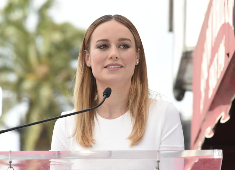 Brie Larson is running for president (in a movie)