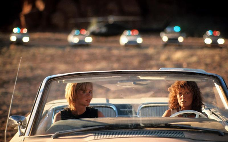 I felt like Thelma and Louise on a road trip in America for my friend's 50th birthday - 2012 Getty Images