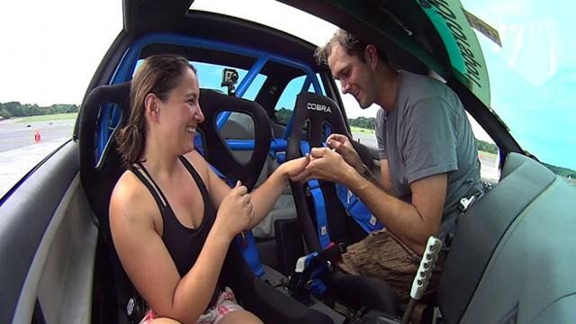 'I Want You to be My Co-Driver for Life' Proposal Goes Viral