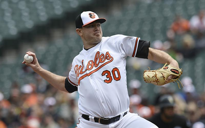 Chris Tillman put away the White Sox easily, he couldn't say the same for Chicago's Triple-A team. (AP Photo/Gail Burton)