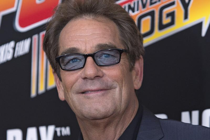 Musician Huey Lewis attends the Back to the Future 30th Anniversary screening in the Manhattan borough of New York, October 21, 2015. The film franchise is celebrating today's date as in the first sequel, the main characters traveled through time to October 21, 2015. REUTERS/Andrew Kelly