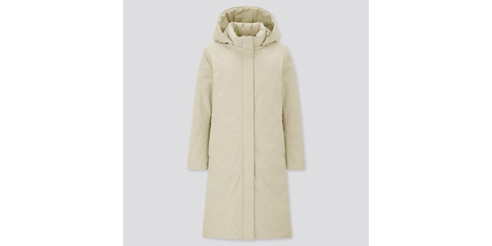 best winter coats: uniqlo