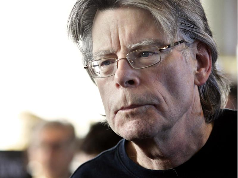 Stephen King said Preisdent Trump's access to nukes was scarier than his books: Getty