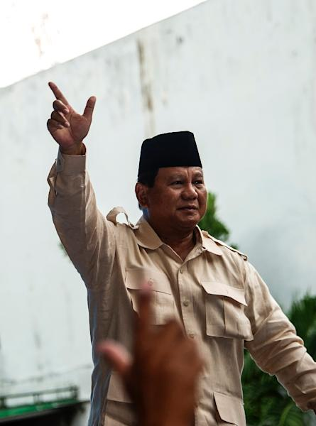 Prabowo Subianto has tried and failed to win high office several times over the past 15 years (AFP Photo/Juni Kriswanto)