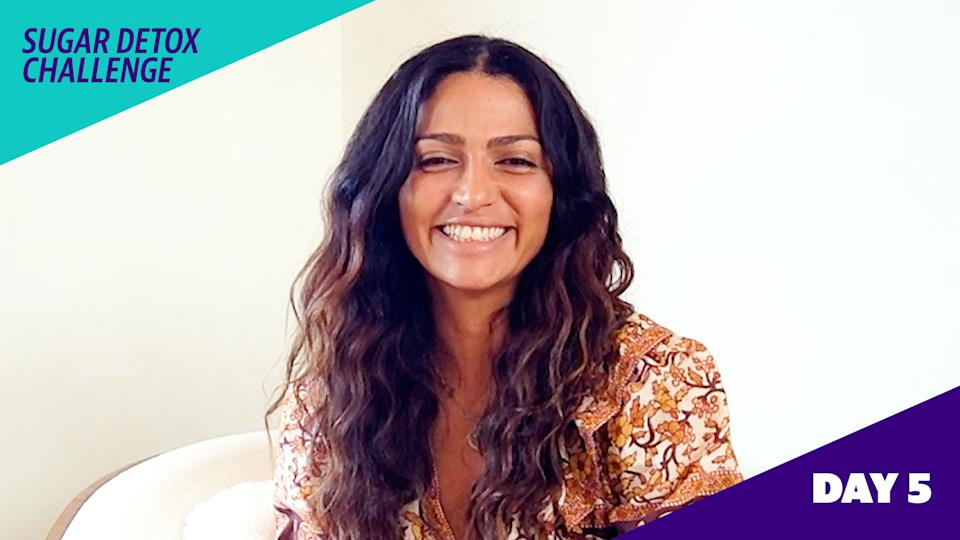 Camila Alves McConaughey customizes a 5-day sugar detox challenge exclusively for Yahoo Life readers.