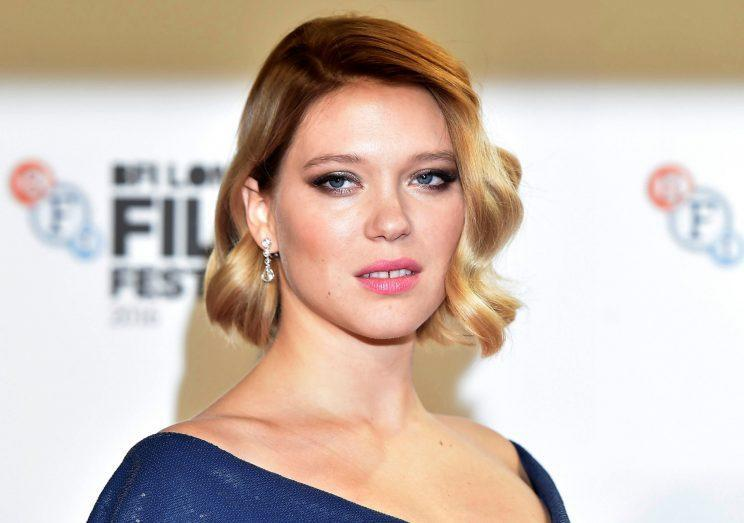 Seydoux… angered director Sam Mendes – Credit: Reuters