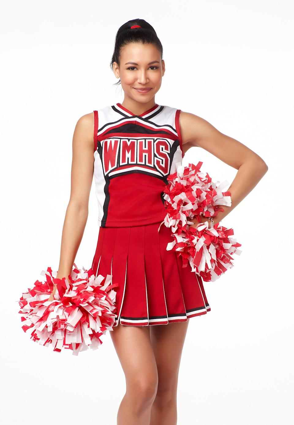 GLEE: Naya Rivera guest-stars as Santana in all-new episodes of GLEE premiering at a special time Tuesday, April 13 (9:28-10:30 PM ET/PT) on FOX. (Photo by FOX Image Collection via Getty Images)