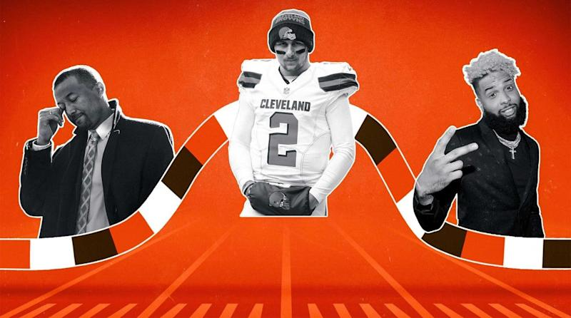 The Cleveland Browns have become the darlings of the NFL this offseason. So let's remember the long and winding journey they've taken to get to this point.