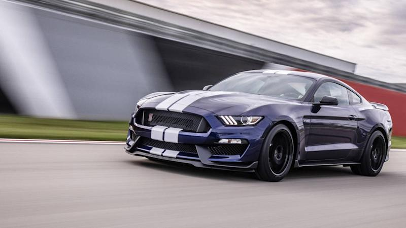 New Ford Mustang Race Car Unveiled For Monster Energy NASCAR Cup Series