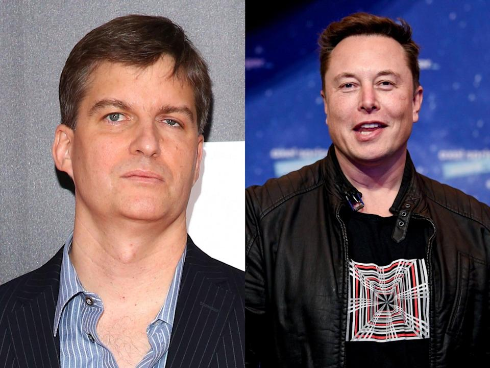<p>'Big Short' investor Michael Burry, who was portrayed by Christian Bale, bets against Tesla</p> (Getty Images)