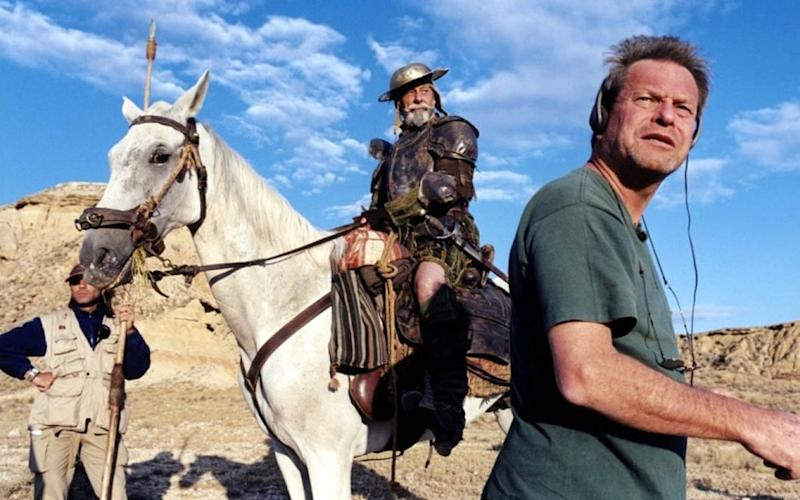 Terry Gilliam a enfin fini de tourner son Don Quichotte