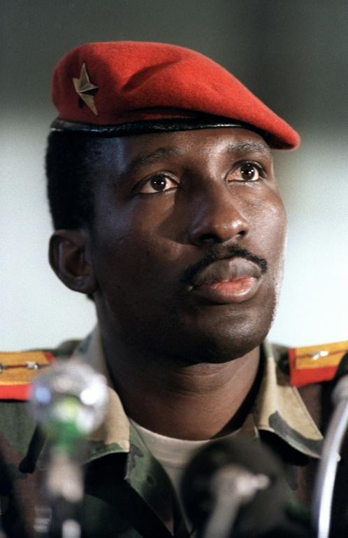Sankara, a devoted pan-Africanist, remains a revered figure in left-wing circles (AFP/DOMINIQUE FAGET)