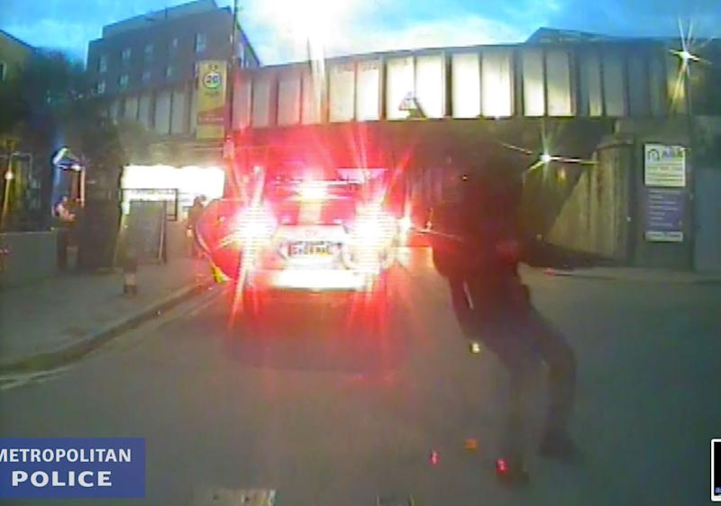 Police Release Shocking Video Of Man Opening Fire On London Street