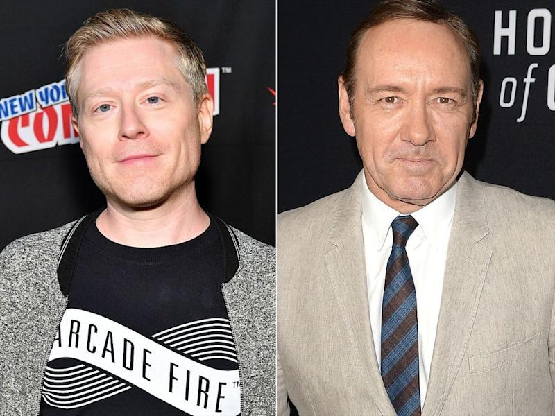 Anthony Rapp, Kevin Spacey