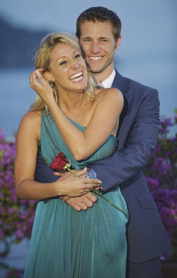 """<b>Season 14:</b><b>,</b><b> """"The Bachelor""""<br></b><b>Jake Pavelka and Vienna Girardi</b><br><br>BROKE UP just three months after the finale aired. In short order, the pair aired their dirty laundry in one of the ugliest televised breakups we've ever seen."""