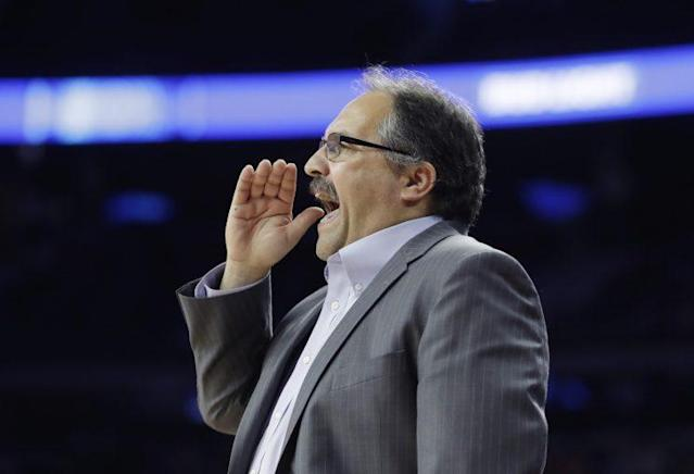 Stan Van Gundy isn't afraid to speak out against Trump. (AP)