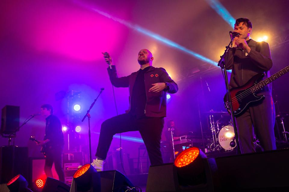 Everything Everything perform a lively set on The Independent/Laundry Meadows stage (Amy Smirk)