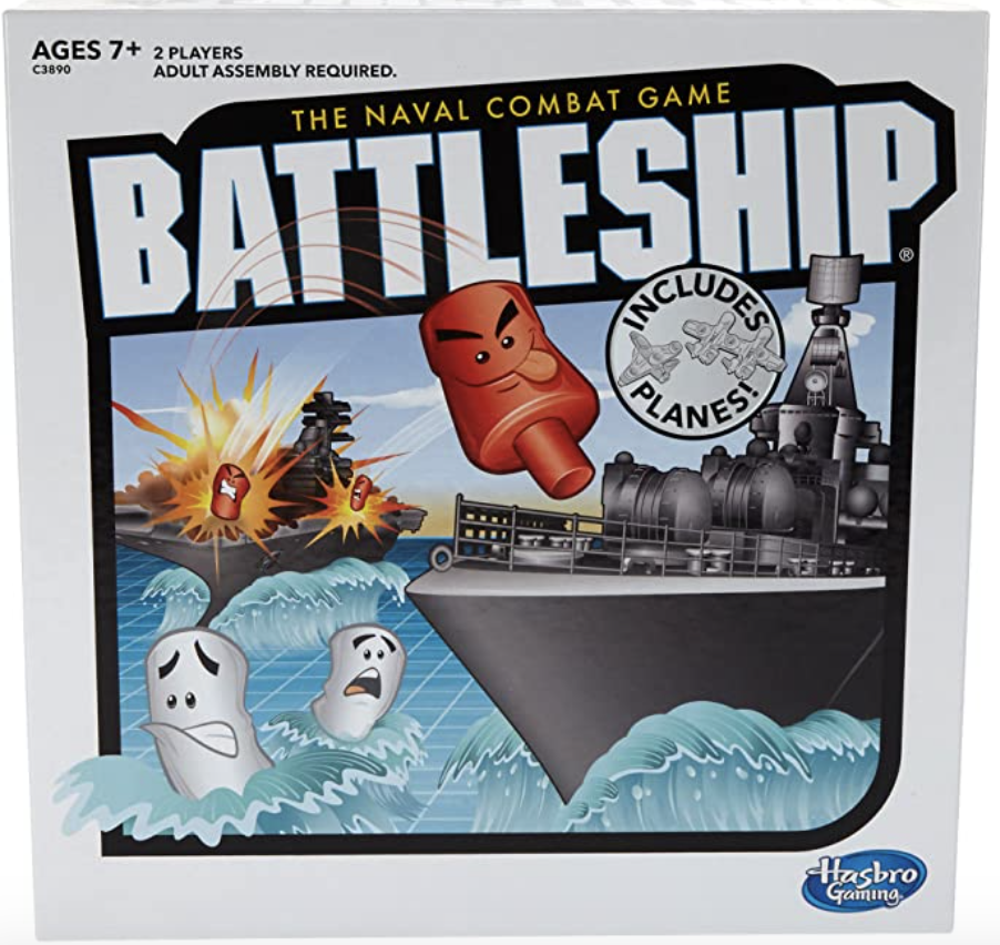 Battleship With Planes Strategy Board Game. PHOTO: Amazon