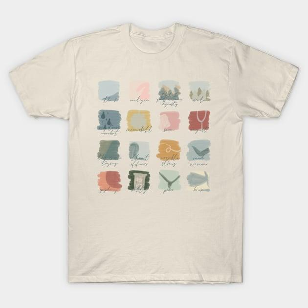 <p>The <span><b>Folklore</b> Moodboard</span> ($13, originally $20) shirt comes in over 25 colors to choose from. </p>