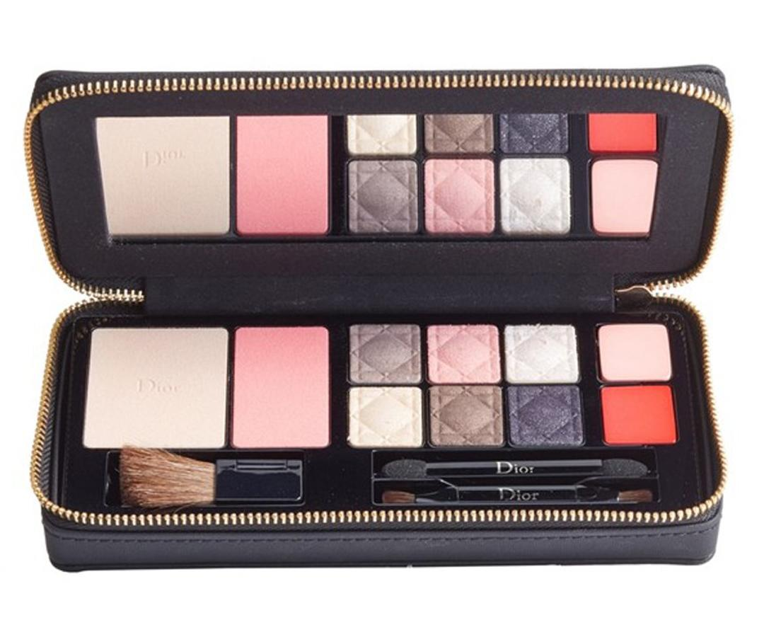 "<p>Whatever the makeup routine of those on your gift list entails, Dior's eye, lip, and face palette has all of the shades needed to execute the look. </p> <p>$89 | <a rel=""nofollow"" href='http://click.linksynergy.com/fs-bin/click?id=93xLBvPhAeE&subid=0&offerid=463275.1&type=10&tmpid=8157&RD_PARM1=http%253A%252F%252Fshop.nordstrom.com%252Fs%252Fdior-all-in-one-couture-palette-for-face-eyes-lips-limited-edition%252F4470440%253Forigin%253Dcategory-personalizedsort&u1=ISELtravelbeautygifts'>SHOP IT</a></p>"
