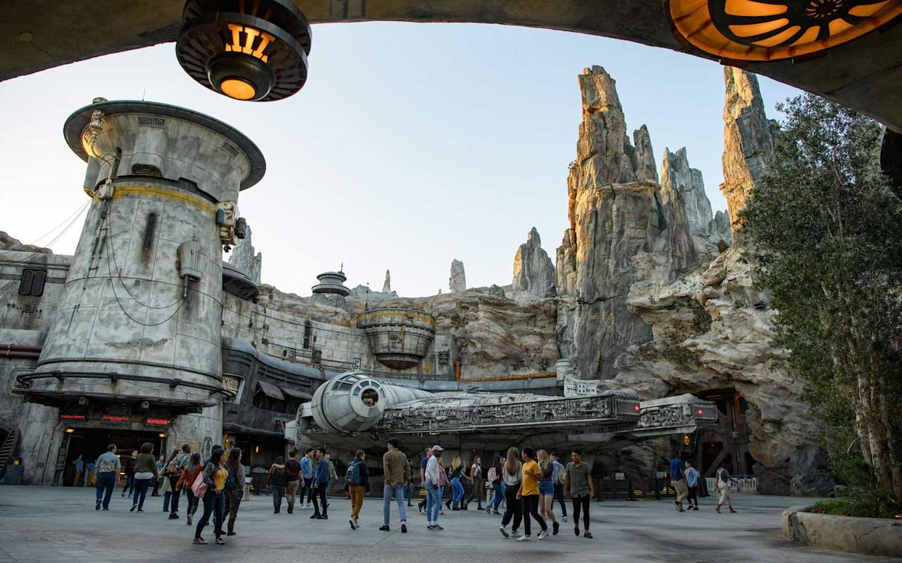 <p>Today's most-discussed attractions and rides are tucked away inside <em>Star Wars</em>: Galaxy's Edge, Disneyland's newest land. Here, you can encounter the Resistance while eating otherworldly food, adopt a plush Tauntaun after visiting Oga's Cantina, or be apprehended by Stormtroopers before stepping foot on the land's two rides — <em>Millennium Falcon: </em>Smuggler's Run, which allows flight crews to operate the famed starship and <em>Star Wars</em>: Rise of the Resistance, a monumental battle opening in January.</p>