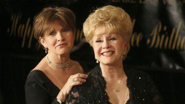 PHOTO: Debbie Reynolds, right, and Carrie Fisher at the Ritz Carlton at Lake Las Vega in Nevada in 2007. (Barry Sweet/Polaris)